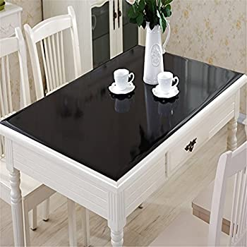 OstepDecor Custom Waterproof PVC Protector For Table/Desk Table Pads Table  Covers With Multi Size