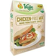 Vejje Meat-Free Mixes (CHICKEN-FREE MIX) (Single Box) (Makes 2.5 Pounds)