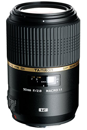 Tamron F004 90mm F/2.8 Macro VC USD Lens for Sony - International Version