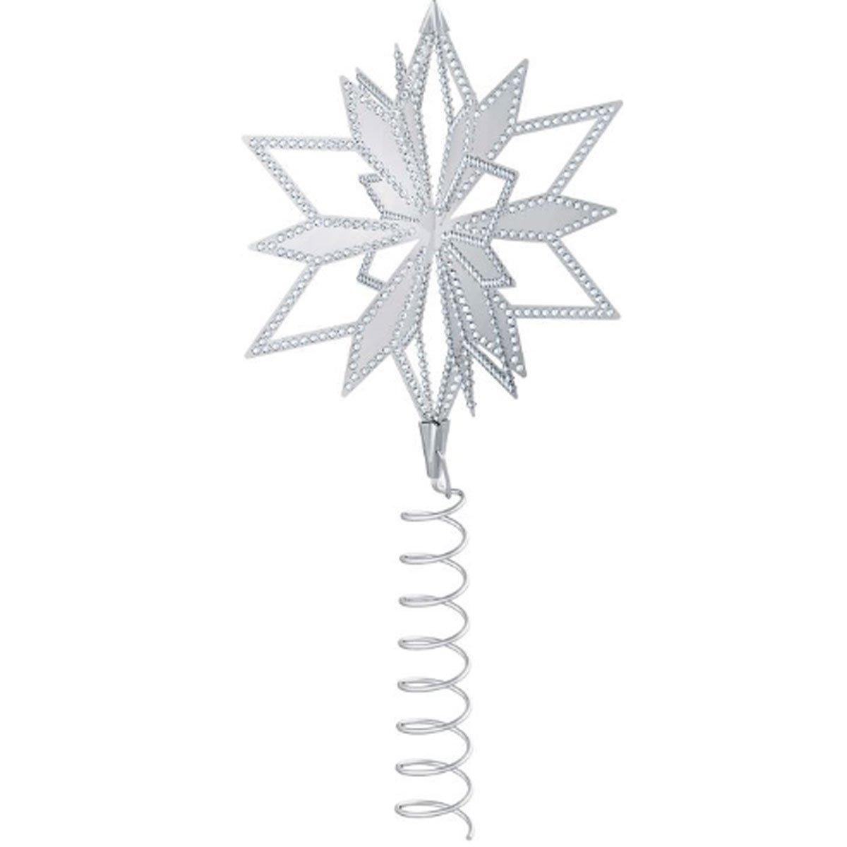 amazoncom swarovski crystal 5064262 christmas star tree topper home kitchen - Christmas Star Tree Topper