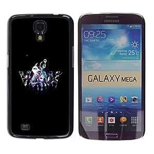 Design for Girls Plastic Cover Case FOR Samsung Galaxy Mega 6.3 YAW OBBA