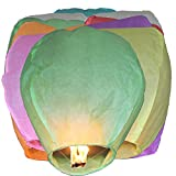 Biodegradable Chinese Sky Lanterns ,Environmentally Friendly Paper Lanterns (Pack of 10)