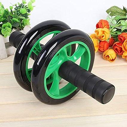Ejercicio en el Hogar Equipaci/ón Push-Ups Doble Rueda Abdomen Muscular Ablita Medio Ambiente Mute