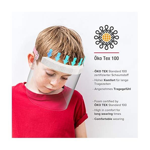 HARD-1x-Visier-Zertifizierter-Gesichtsschutz-Gesichtsschild-Anti-Beschlag-Gesichtsvisier-Face-Shield-Made-in-Germany-fr-Kinder-Rosa