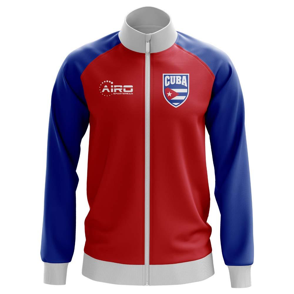 Airo Sportswear Cuba Concept Football Track Jacket (ROT) - Kids