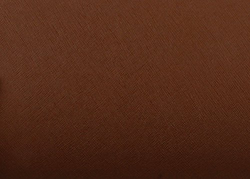 Magic-fix Peel & Stick Faux Leather Pre-pasted Polyurethane Leather Self-adhesive Multipurpose Wall Paper (Grill Brown : 19.68 inch X 53.14 inch)