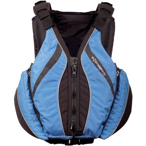 Extrasport Life Jackets (Extrasport Swiftwater Ranger Rescue Lifejacket-Yellow-XL)