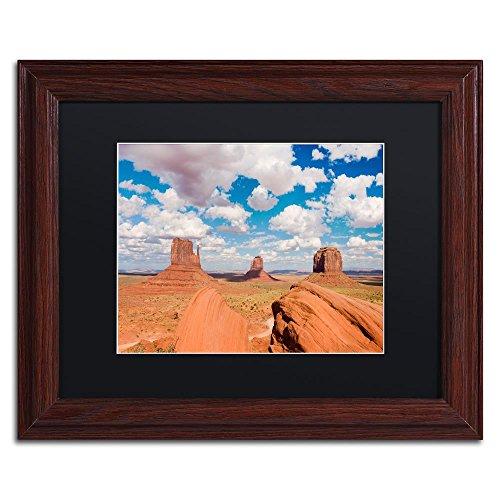 Sandstone Citadel by Michael Blanchette Photography, Black Matte, Wood Frame Original Artwork, - Citadel Commerce