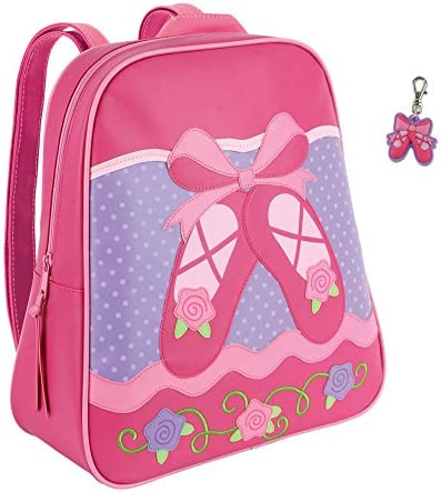 Stephen Joseph Girls Ballet Shoes Backpack with Zipper Pull