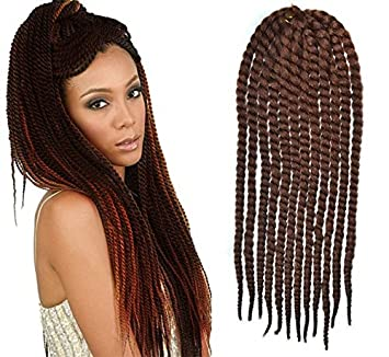 Amazon auburn color crochet braid hair extensions hair auburn color crochet braid hair extensions hair braids havana mambo twist style cuban twist uf533 pmusecretfo Images