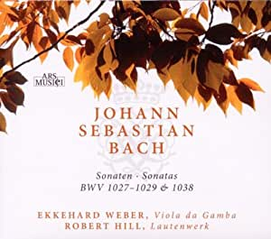 3 Sonatas for Viola Gamba & Lute Harpsichord