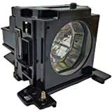 DT00751 Replacement Lamp with Housing for HITACHI CP-X260 CP-X265 CP-X267 CP-X268A HX-3180 HX-3188 PJ-658 CP-X268 3M X62 X 62W Series Projectors