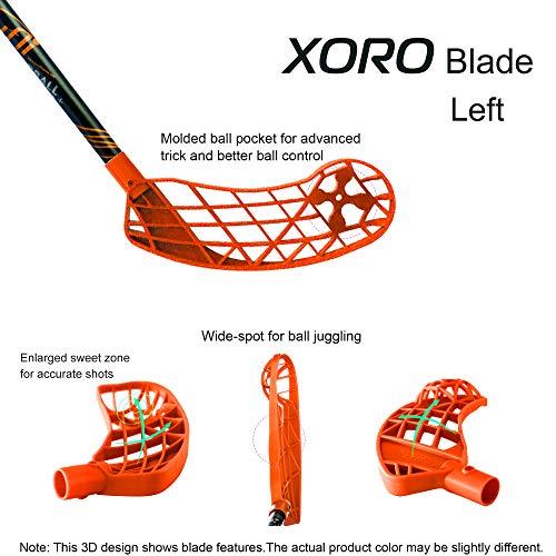 ACCUFLI Floorball Zorro Stick XORO Z80 Left 36inch