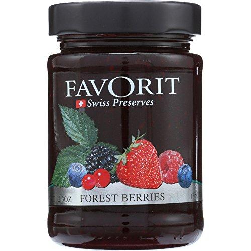 - Favorit Preserve Forest Berry, 12.3 oz