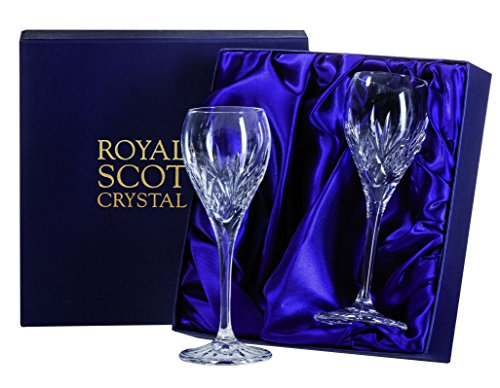 (Royal Scot Crystal Highland Set of 2 Crystal Port Sherry)