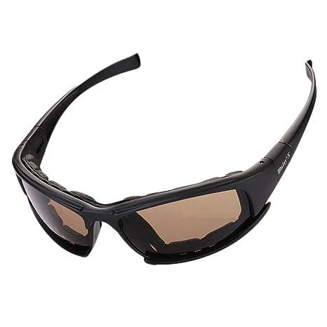 Giantree Gafas de moto polarizadas a prueba de humo Protección ocular Gafas de seguridad protectoras de laboratorio Gafas con ventilación de laboratorio: ...