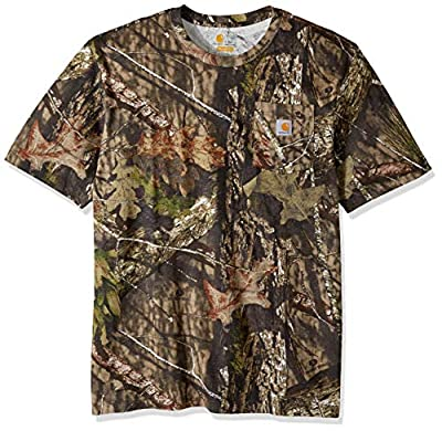 Carhartt Men's Big and Tall Big & Tall Camo Short Sleeve T Shirt