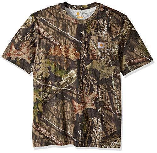 - Carhartt Men's Big and Tall Big & Tall Camo Short Sleeve T Shirt, 340-Mossy Oak Breakup Country, Large