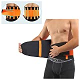 Lower Lumbar Support Belt Back Brace By ZSZBACE for Women&Men- Premium Back Support Brace With Breathable Mesh Adjustable Support Straps for Relief Back Pain-XXL