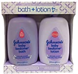 Johnsons Baby Bedtime Bath 28 Ounce And Lotion 27 Ounce, Gift Pack