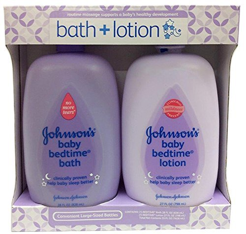 Johnsons Baby Bedtime Bath 28 Ounce And Lotion 27 Ounce, Gift Pack by Johnson & Johnson