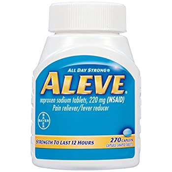 Aleve Caplets With Naproxen Sodium, 220mg (Nsaid) Pain Relieverfever Reducer, 270 Count 3