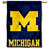 University of Michigan Wolverines UM House Flag