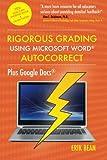 words auto - Rigorous Grading Using Microsoft Word AutoCorrect: Plus Google Docs