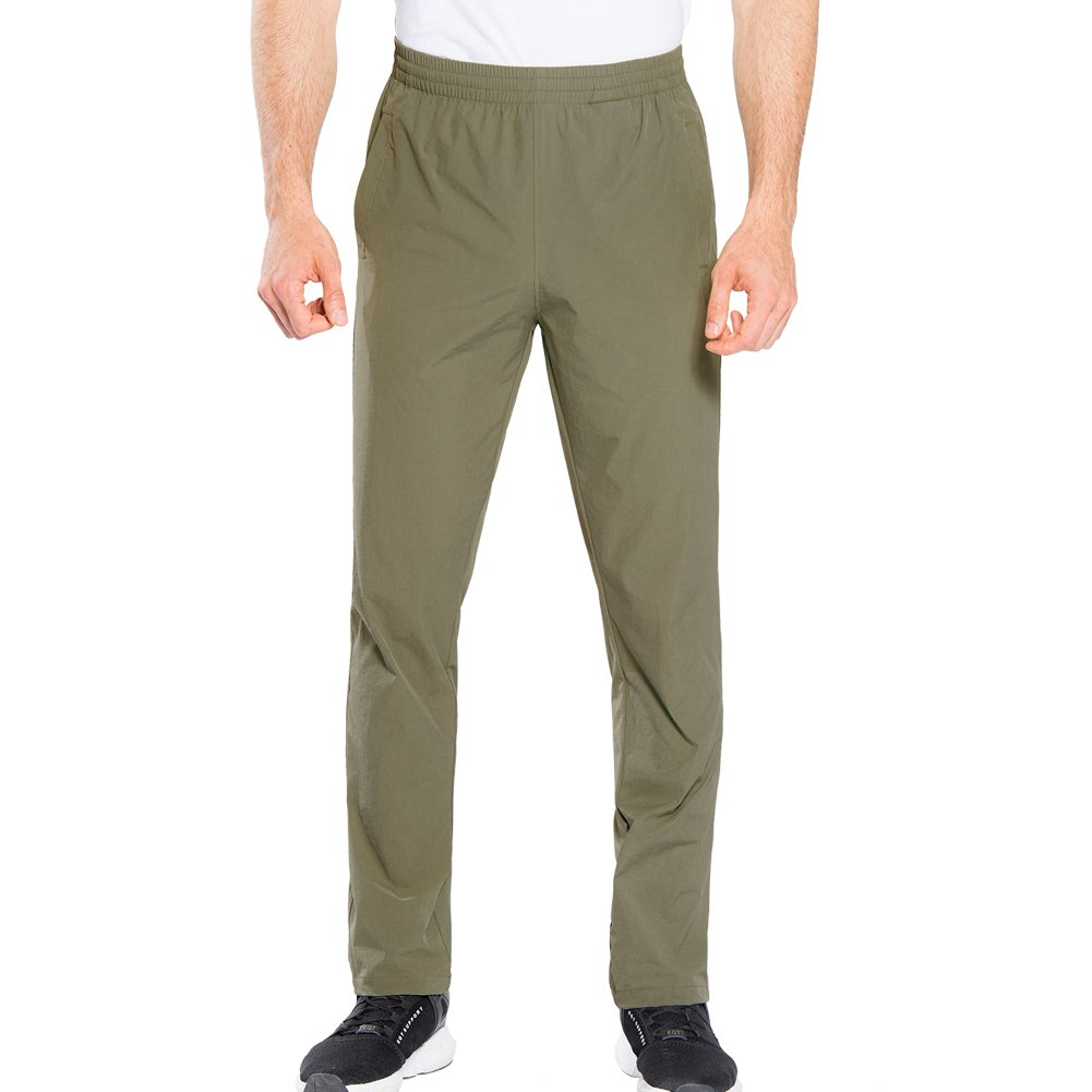 FLYGAGA PANTS メンズ B07BSB1JSW Medium|カーキ カーキ Medium