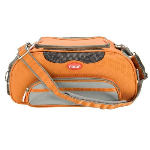 - Teafco Argo Large Aero-Pet Airline-Approved Pet Carrier, Tango Orange by Teafco