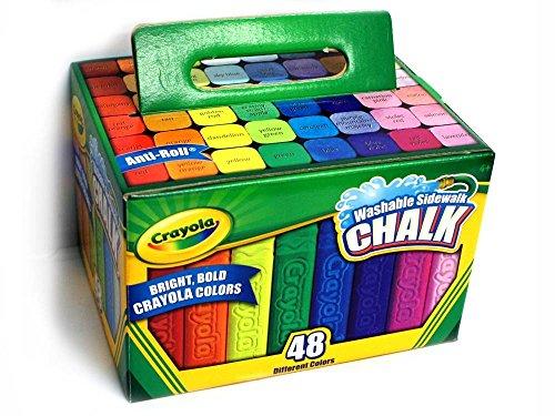 🥇 Crayola Washable Sidewalk Chalk