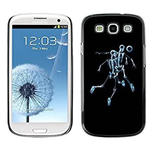 GagaDesign Phone Accessories: Hard Case Cover for Samsung Galaxy S3 - Skeleton Skull Soccer