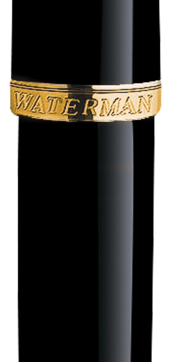 Waterman Carene Medium Point Fountain Pen, Black (S0700320) by Waterman (Image #2)