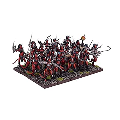 Kings Of War Abyss Succubi Regiment by Mantic Entertainment