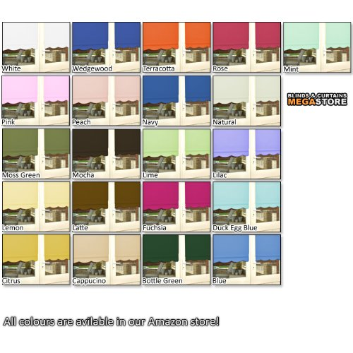EASYFIT SCALLOPED EDGE ROLLER BLINDS * SELECT YOUR SIZE U0026 COLOUR * THIS  SCALLOP BLIND IS