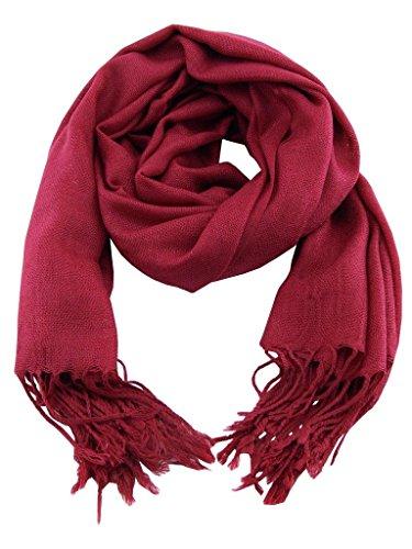 Accesorio Top s y bufanda robusta Mujer Shawl suave Trend Pashmina Color ffxdZqwnAr
