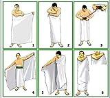 Men's Ihram Set with Money and Ihram Belt for Hajj