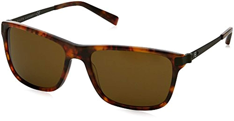 Ralph Lauren Mens RL8155 Sunglasses /& Carekit Designer Sunglasses Bundle