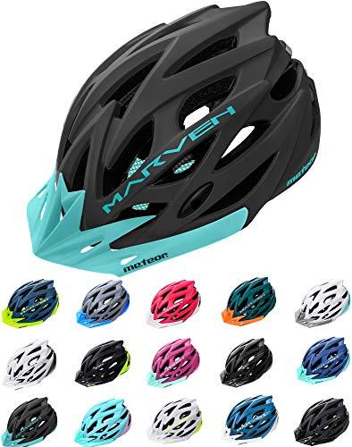 meteor® fietshelm heren dames kinderhelm MTB scooter helm helmet voor downhill scheidingshelm mountainbike inliner…