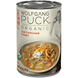 Wolfgang Puck Organic Soup, Old Fashioned Potato, 14.5 Ounce (Packaging May Vary)