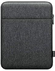 Dadanism 9-11 Inch Tablet Sleeve Bag Carrying Case for iPad 10.2 2021-2019, iPad Pro 11 2021-2018, iPad Air 4 10.9 2020, Galaxy Tab A7 10.4 2020, Tablet Protective Sleeve with Pocket, Dark Gray