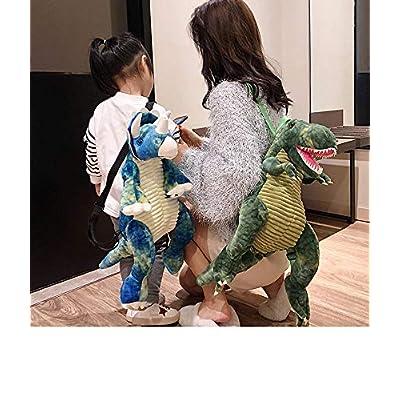 3D Stuffed Dinosaur Backpack, Dino Animal Plush Sloth Bag Toys Bookbag Anti-Theft schoolbag for Toldder Teens Children's Day Gift   Backpacks