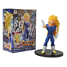 Banpresto - Figurine DBZ - Vegeta Super Saiyan 3 Heroes of Card DXF 15cm - 4983164493511