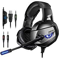 ONIKUMA Gaming Headset - Headset Gaming Headphone for...
