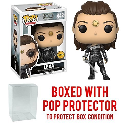 Funko POP TV: The 100 - Lexa Limited Edition CHASE Vinyl Figure (Includes Compatible Pop Box Protector Case) -  43227-975