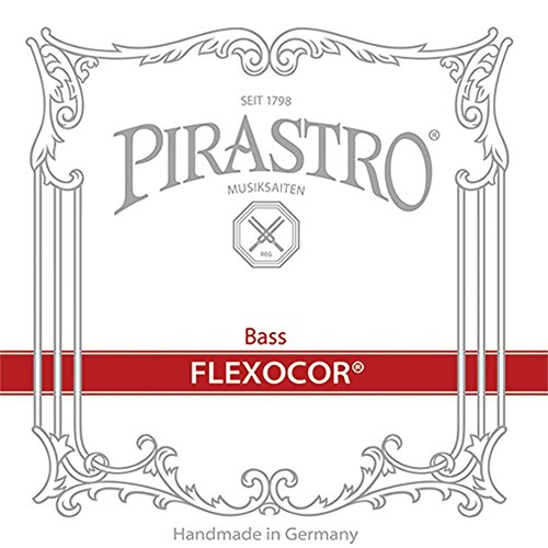 Pirastro Flexocor Series Double Bass String Set 3/4 Medium (Orchestra Bass Strings)