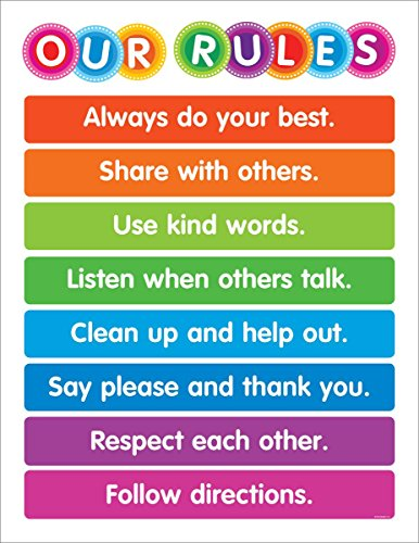 color your classroom: our rules chart