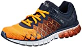 Fila Men's Guardian 2 Enzd Shocking Orange and Fila Navy Running Shoes - 10 UK/India (44 EU)