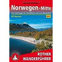 Norwegen Mitte: Von Geiranger bis Trondheim und zum Børgefjell. 50 Touren. Mit GPS-Tracks (Rother Wanderführer)