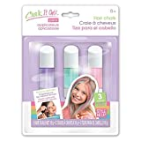Style Me Up - Hair Chalk for Girls. Chalk It Out Pastel Colors 3 Pens Kids Art Craft - SMU-1615